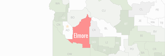 Elmore County Map